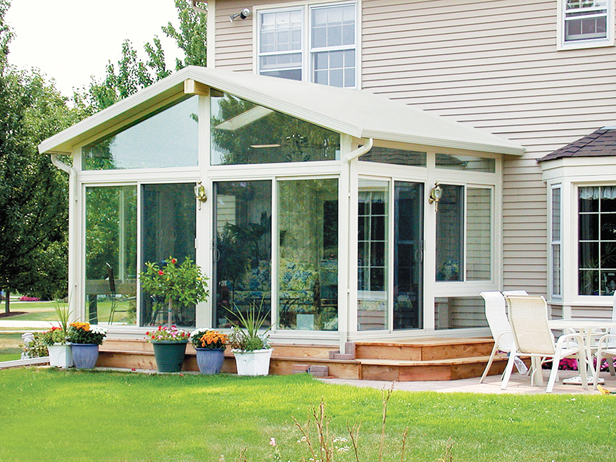 Gable Roof Sunroom 4 Betterment Sunrooms